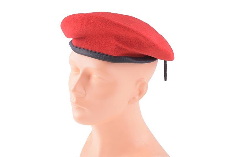 Military Beret - Red