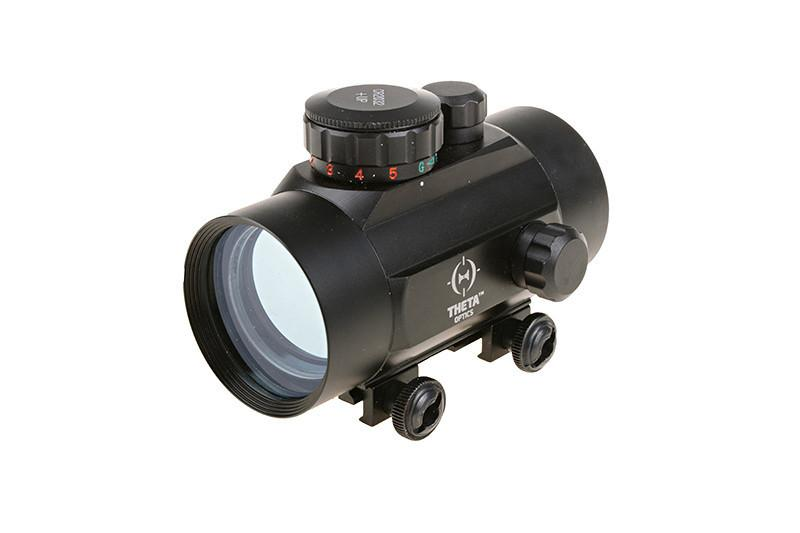 Kolimátore  Red Dot 1x40 Reflex Sight Replica - Black (Theta Optics)
