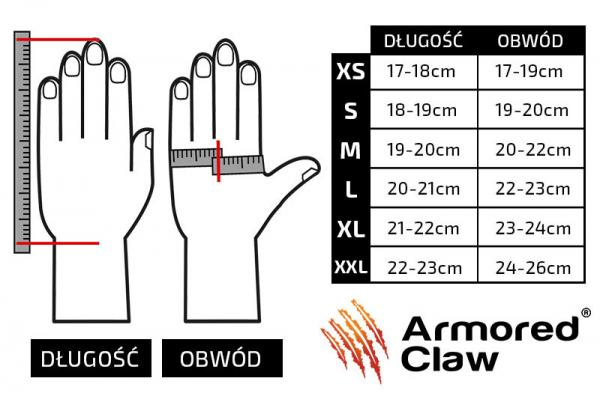 (ACL) Taktické rukavice Armored Claw Smart Tac- olive L