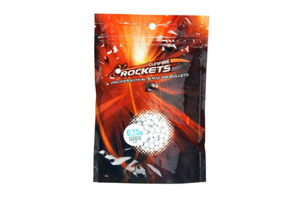 (ROC) Rockets Professional 0,25g - 1000 pcs