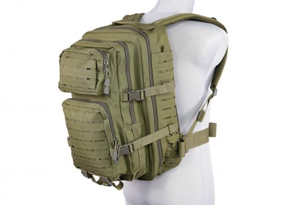 (GFT) Batoh  - Medium Laser-Cut Patrol Backpack - Olive Drab