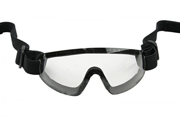 (FMA) Low profile goggles - white
