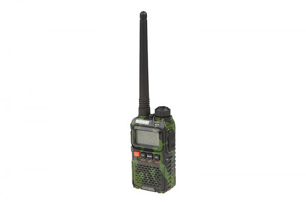 Manual Dual Band Baofeng UV-3R+ Radio - (VHF/UHF) 2W - Camo